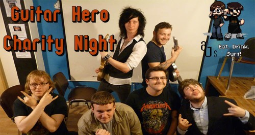 Guitar Hero Charity Night