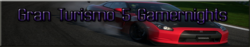 Gran Turismo 5 Gamernights Banner