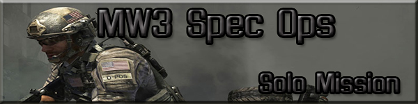 Modern Warfare 3 Spec Ops