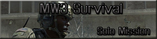 Modern Warfare 3 Survival