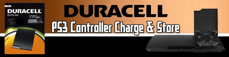 Duracell PS3 Charge And Store Banner