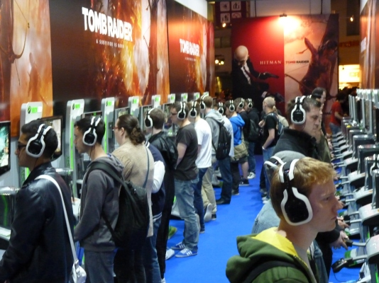 Many, many gamers couldn't wait to get their hands on Lara