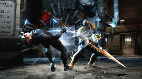 Injustice Gods Among Us Deathstroke Nightwing