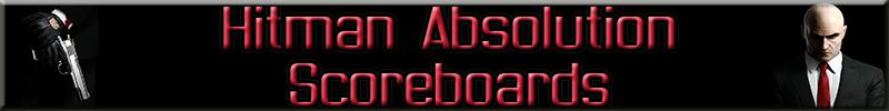 Hitman Absolution Scoreboard Banner