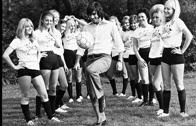 George Best and Blinkers Ladies football team