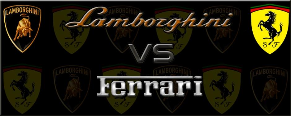 Gran Turismo 5 Lamboghini vs Ferrari