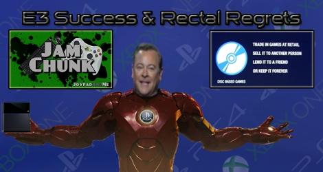 JamChunk Episode 13: E3 Success & Rectal Regrets