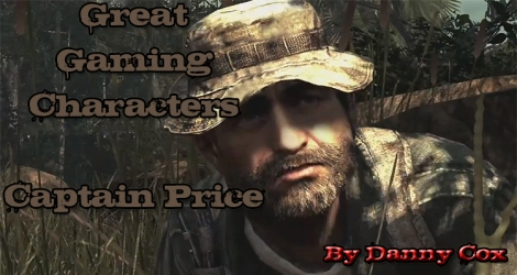 Gaming Character- Captain Price Front Page