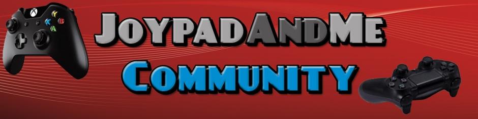JoypadAndMe Community Banner