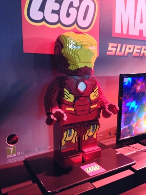 Even Tony Stark built an Iron Man suit out of Lego