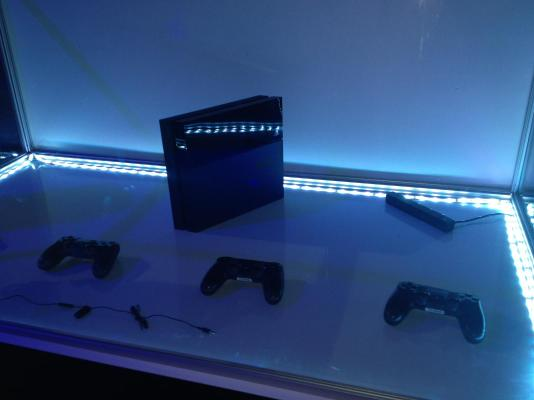 The console itself, the Playstation 4