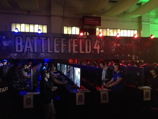 Full 32 vs 32 player demo of Battlefield 4 was available for all to try