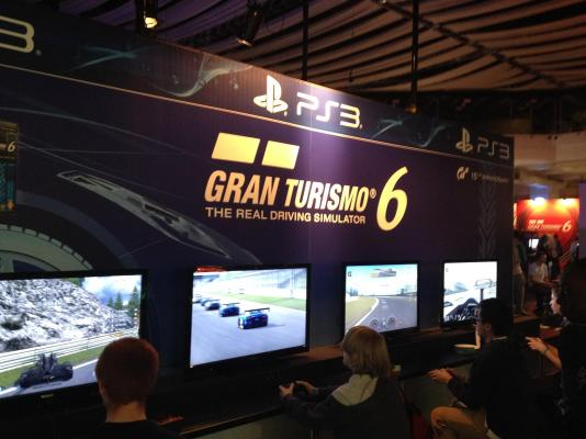 A true driving experience, Gran Turismo 6 was available to play in a number of places