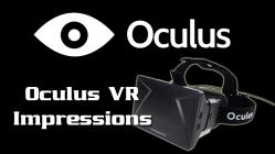 Oculus Impressions Link