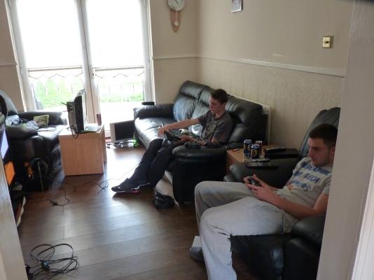 Gamers settling in for the long haul