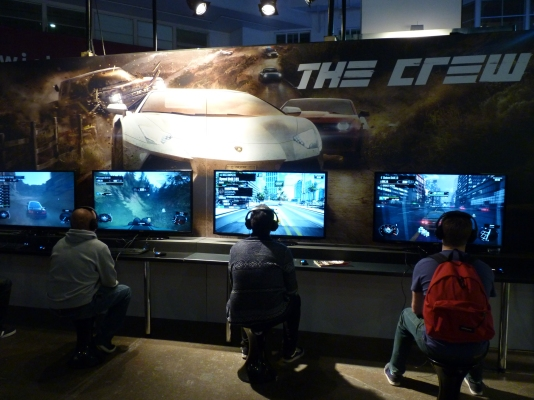 Many gamers got to grips with The Crew