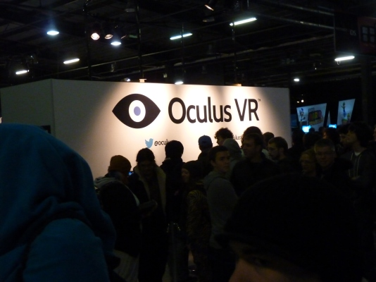 Oculus Rift showed up with all its awesomeness