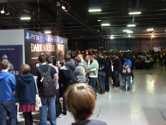 Dark Souls 2 proved to be a popular attraction