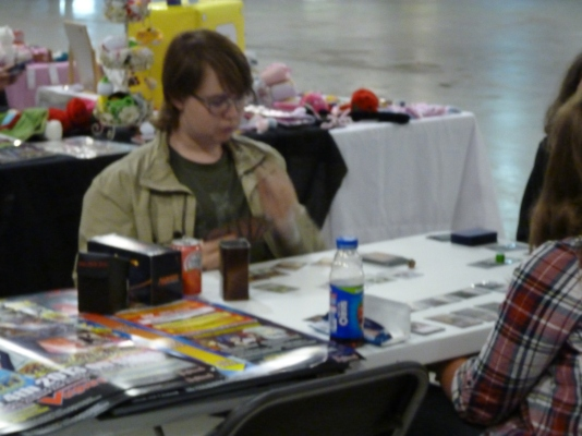 Card games were also around to have a go out. Magic The Gathering made a showing
