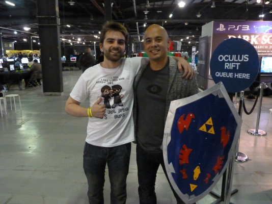 Jaymes even offered Oculus his shield for an early release set but sadly it was not to be