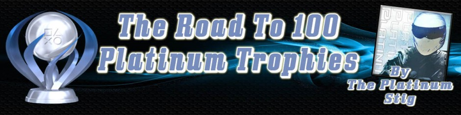 The Road To 100 Platinum Trophies Banner