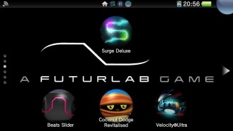 Surge Deluxe has made an exciting addition to my FuturLab Screen on my PSVita.
