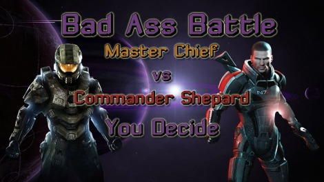 Master Chief vs Commander Shepard Link