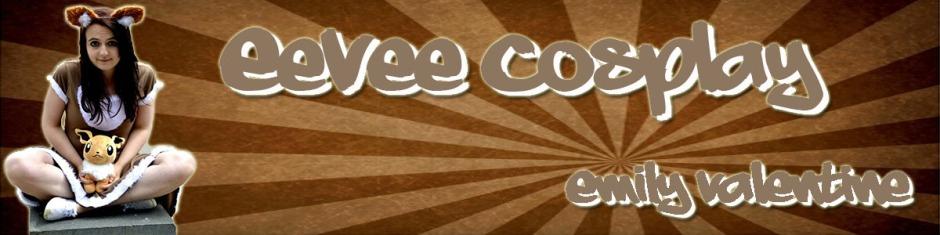 EeVee cosplay banner