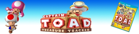 Captain Toad Treasure Tracker banner