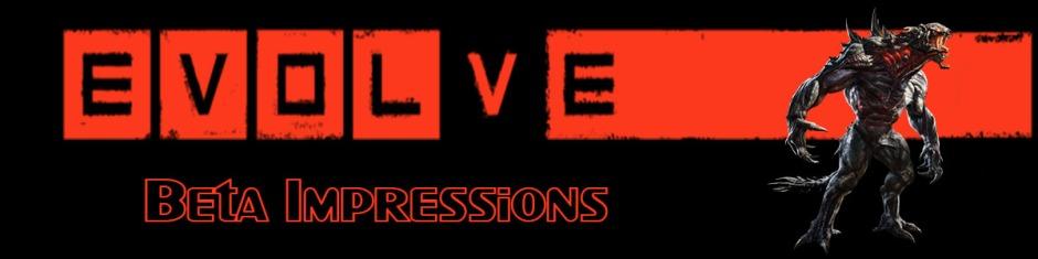 Evolve Beta Impressions Banner