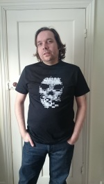 Me wearing the Watch_Dogs Lille Tee