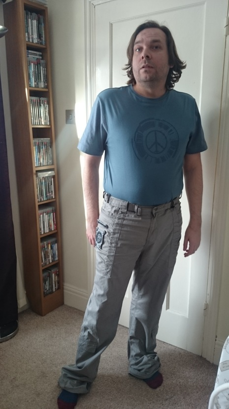 Metal Gear Solid Collection Field Pants and Peace Walker T-Shirt