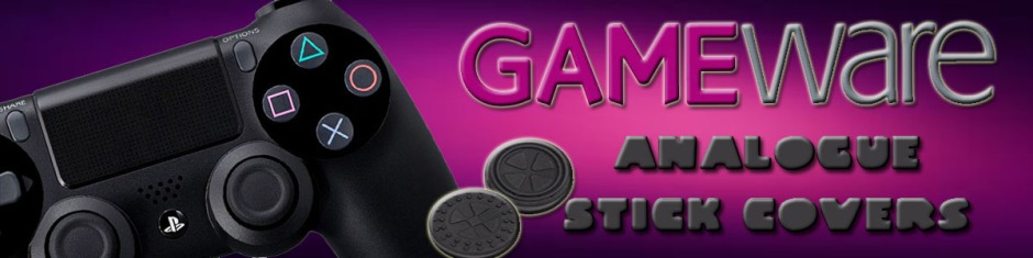 Gameware Analogue Stick Covers Banner
