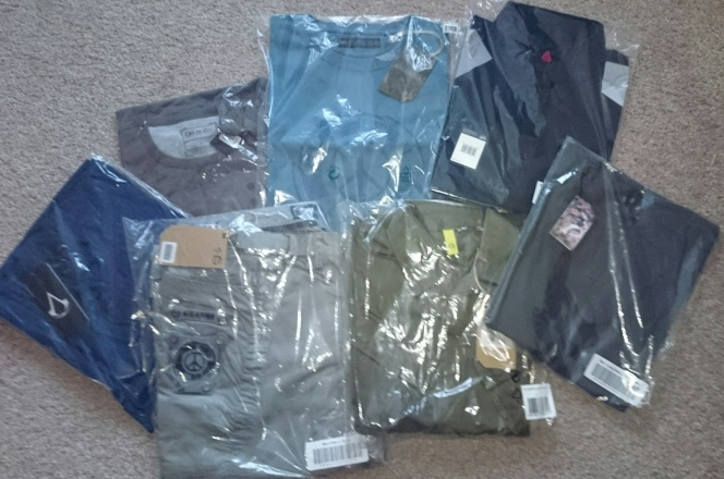 Contents of my Musterbrand order