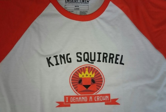 Tearaway Squirrel King Tee