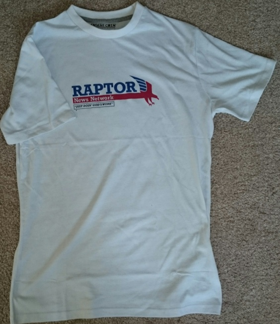 DmC Raptor News Network Tee