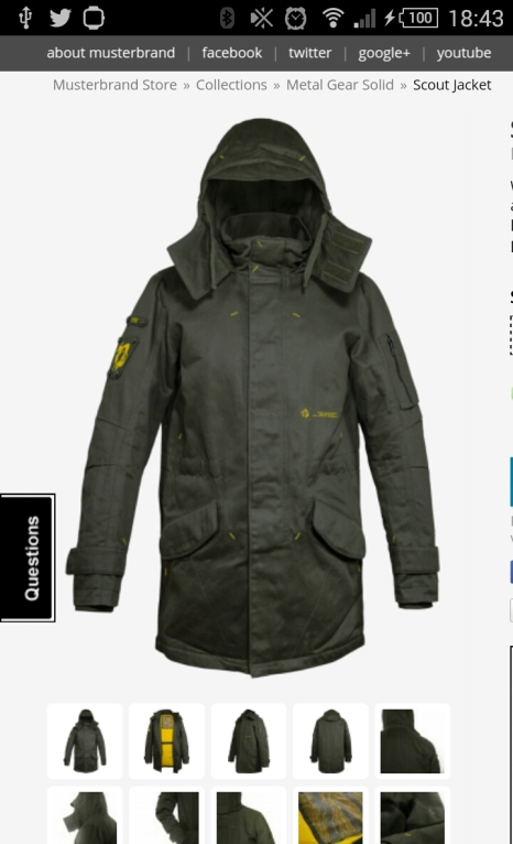 Perfect for this winter weather MGS Scout Coat