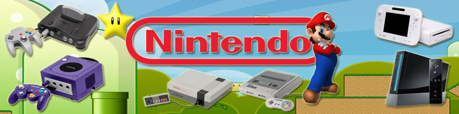 Battle Of The Consoles Nintendo Banner