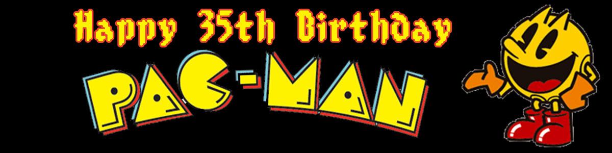 Wonderful Happy Birthday Pac-Man | IB94